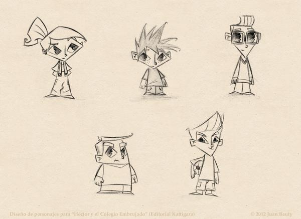 Un Periodista en el Bolsillo ilustracion bocetos niños _ - Un ...