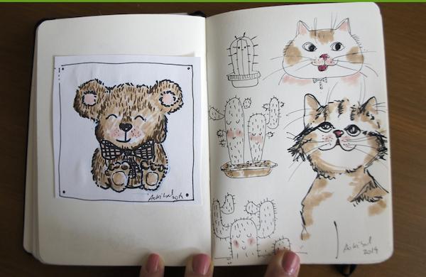 Dibujos De Mi Libreta: Un Periodista En El Bolsillo Ilustracion Los Cuadernos De