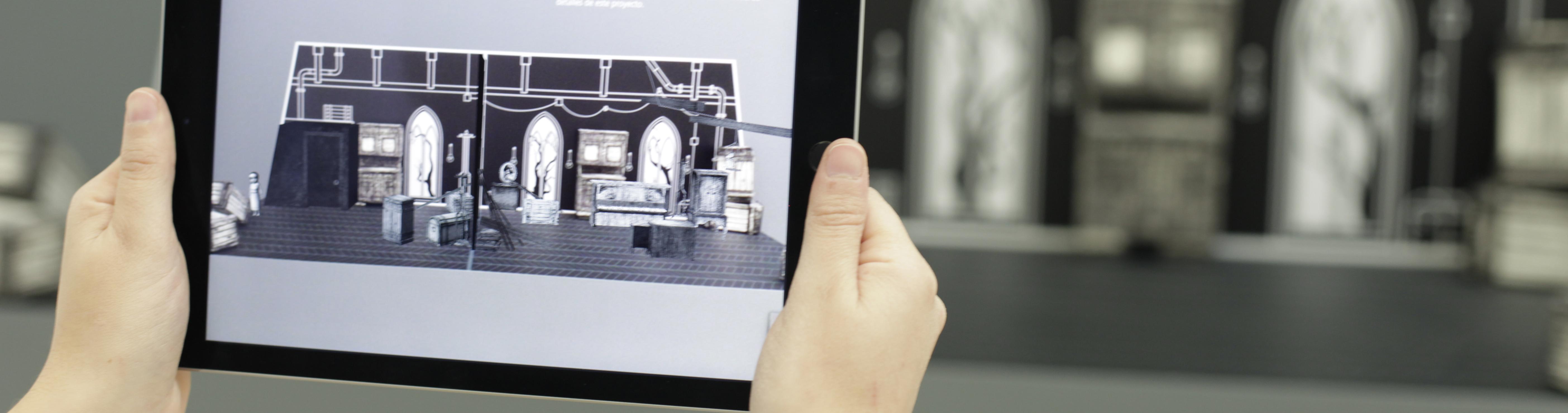 Teatro interactivo realidad aumentada ©Unit Experimental, UPV_web