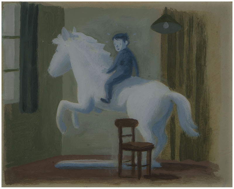 Julian caballo piedra Germán Wendel
