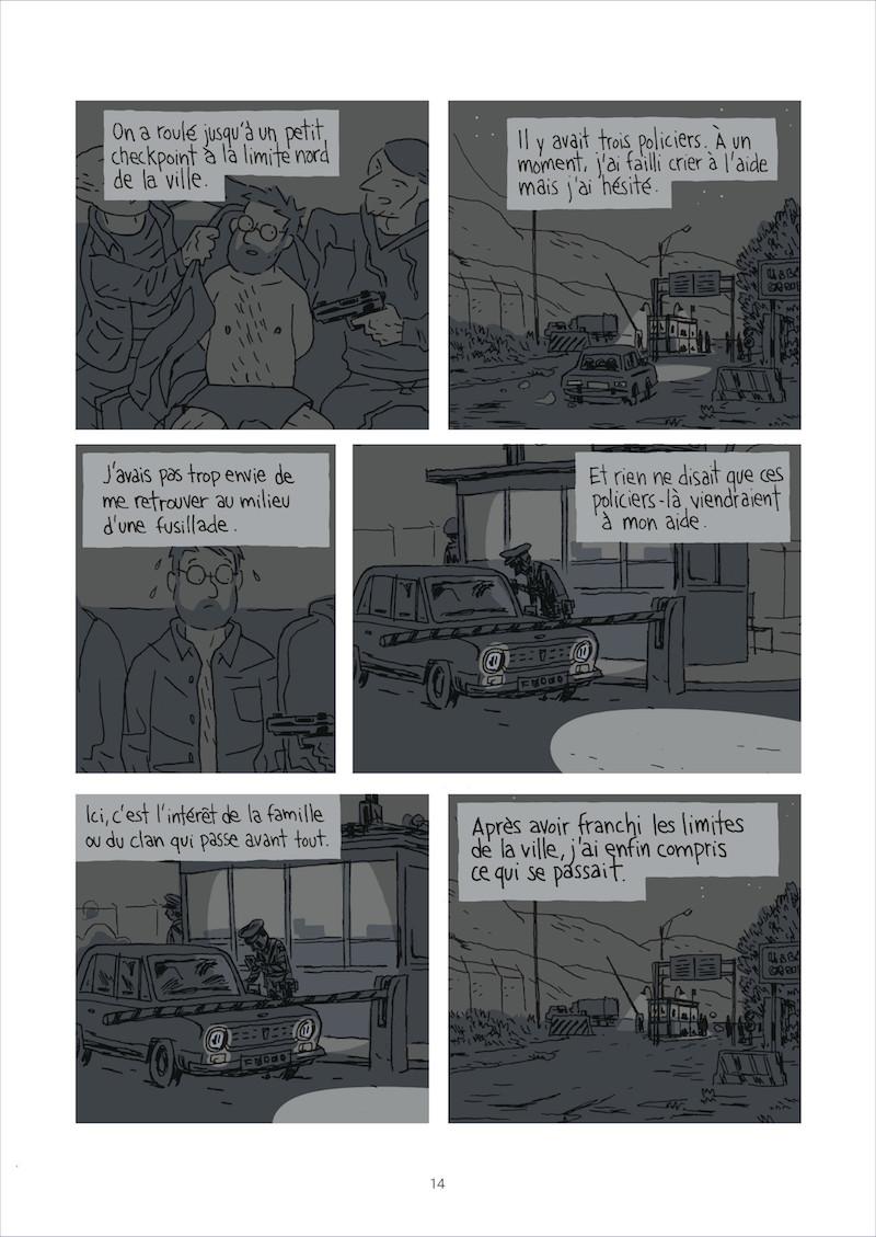 Guy Delisle Escapar