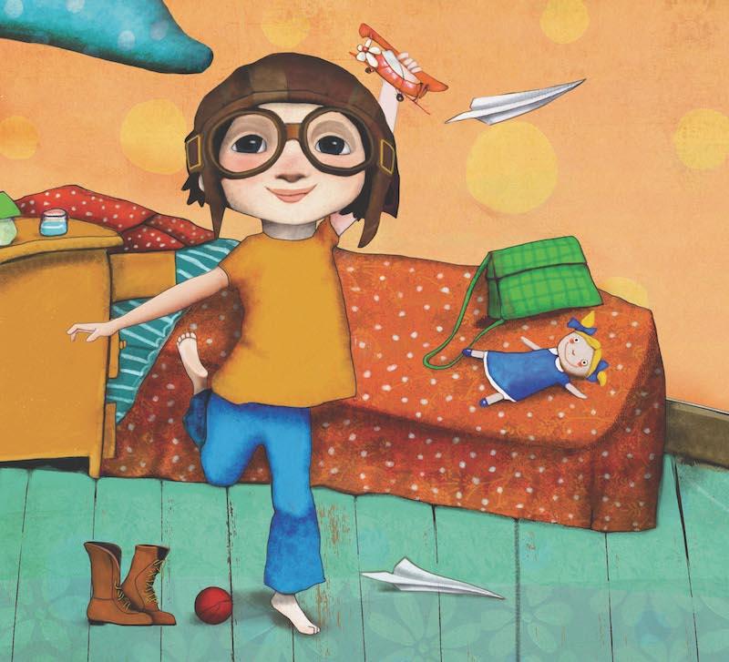 Raquel Díaz Reguera Cuando las niñas vuelan alto
