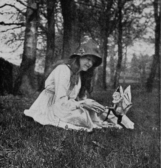 Ana Sender Las hadas de Cottingley