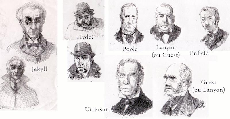 Maurizio Quarello Jekyll y Hyde