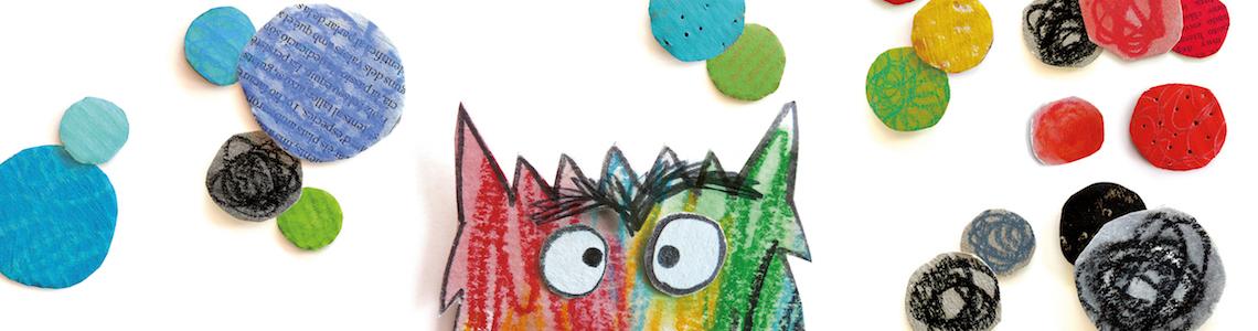 Anna Llenas monstruo de colores